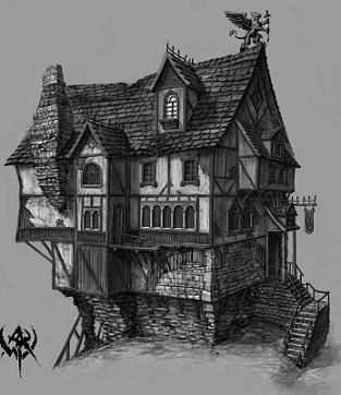 plan maison warhammer